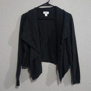 Medium Dark grey shrug cardigan LOFT by Ann Taylor
